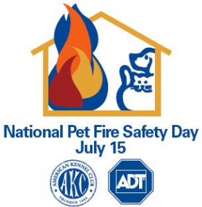 National Pet Fire Safety Day Logo